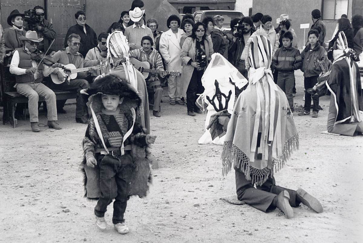 Native American dance - Alcalde, NM, USA